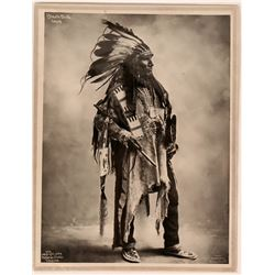 Reproduction photograph of Black Bird, Sioux Chief   (120213)