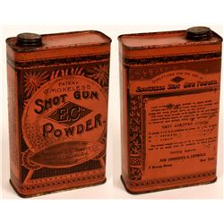 Shot Gun Powder - Rare Antique Tin  (118156)