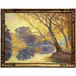 Autumn Landscape by Willem Delsaux  (120010)
