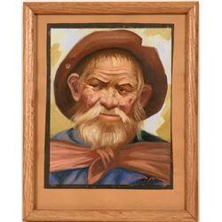 Portrait of Old Man by Levoyer  (119002)