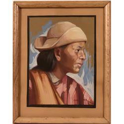 Portrait of Woman in Hat, Levoyer  (119003)