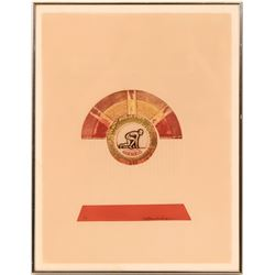 Lithograph for Olympics-1976, Barooshian  (119008)