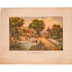 The Roadside Mill, Published, Currier & Ives  (116731)