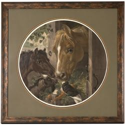 Horse Lithograph, Mid-Nineteenth Century  (114384)