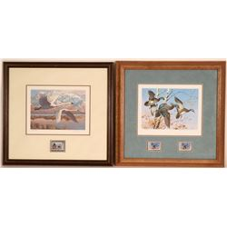 3 Duck Stamp Prints  (117699)