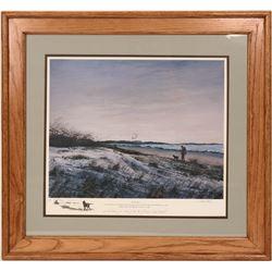 Sunset Geese by Hank Walker  (116204)