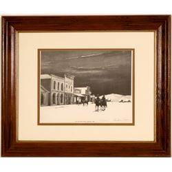 Nevada Artist Andrew Saar Collection of Autographed Prints (Lot of 10)  (110371)