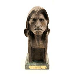 Frederick Remington Bronze Sculpture Modern Immitation  (83549)