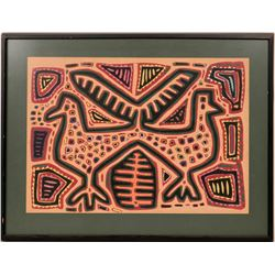 Kuna Mola Folk Art Textile  (119011)