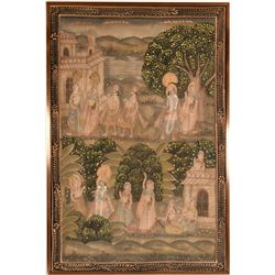 Story Painting from India  (117691)