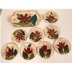Royal Doulton Floral Plates, 1982  (108795)