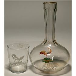 Back Bar  Decanter & Shot Glass  (119652)