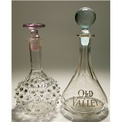 Old Valley Back Bar Bottle & Decanter  (117952)
