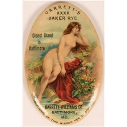 Whiskey Nude Pocket Mirror  (119083)