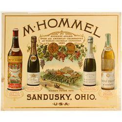 M. Hommel Champagne Lithograph  (78974)