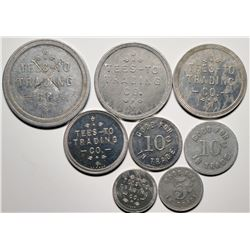 Tees-To Trading Post Tokens: Indian Trading Post  (119941)