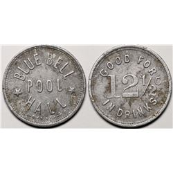 Blue Bell, AZ Token: Blue Bell Pool Hall  (119283)