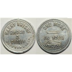 "Clifton, Arizona:  ""Rhoad 2 Rhuin""-- One of the Greatest Western Tokens  (119903)"