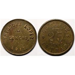 Concho, AZ Token: Theodore Lopez   (119178)