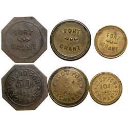 Fort Grant, AZ Tokens  (117596)