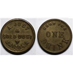Gold Dust, AZ Token:  A. Just  (117763)