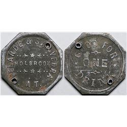 Holbrook, A.T.: Velarde & Saavedra Saloon Token  (117767)