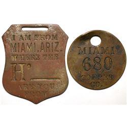 Miami AZ Equipment Tags  (119271)