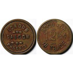 Phoenix, AZ: London Saloon GF Token  (120632)