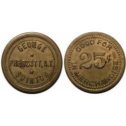 Prescott, A.T.: George Swinton GF Token  (119296)