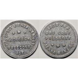 Prescott A.T.: Prescott Vienna Bakery GF Token  (119299)