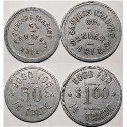 Sanders, AZ: Sanders Trading Co. GF Token Pair  (119287)
