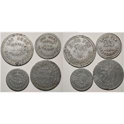 St. Michaels, AZ: Four Indian Trader GF's  (119315)