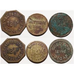 Tombstone, AZ: Three Different Tokens  (119529)