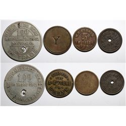 Arizona Copper Camp Tokens incl. Lowell, A.T.  (117585)