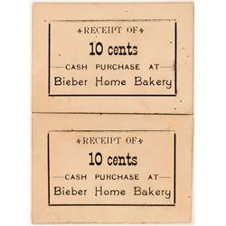 Bieber Home Bakery Tokens  (119683)