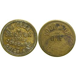 Club Saloon Token  (90352)