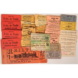 Scrip Collection from Sacramento Businesses  (119103)