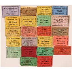 Watsonville Cardboard Token Collection  (119675)