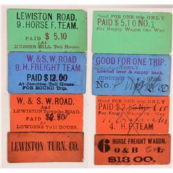 Lewiston Turnpike Road Fare Tickets  (119669)