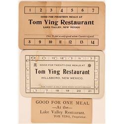Tom Ying Restaurant Scrip  (119742)