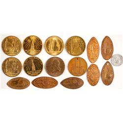 World's Fair Token/Penny Collection  (83907)