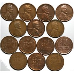 1931-S Lincoln Cent Hoard  (117632)