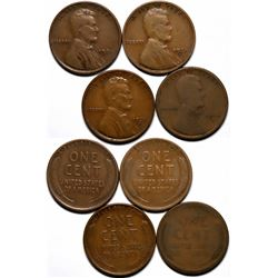 Key Date Lincoln Pennies  (117631)