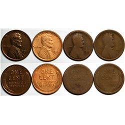 Key Date Lincoln Pennies  (117636)