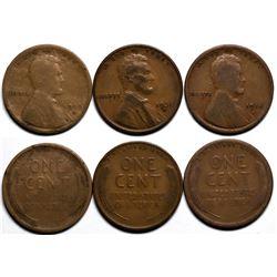 Key Date Lincolns  (117623)