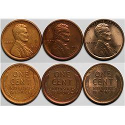 Semi Key Date Lincoln Cents  (117633)