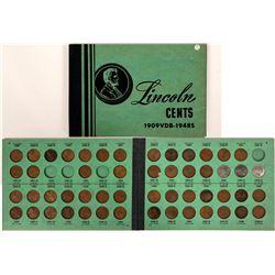 Lincoln Penny Coin Album  (117624)