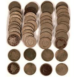 1900 Liberty Head Nickel Hoard  (117677)