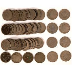 1904 Liberty Head Nickel Hoard  (117676)