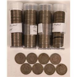 Liberty Head Nickel Rolls  (117647)